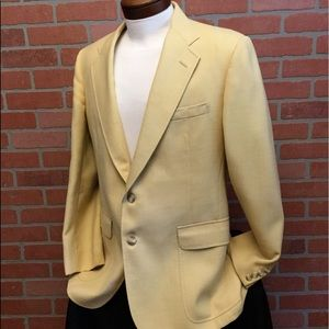Vintage Wimbledon suit jacket 2 button blazer